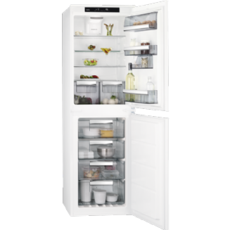 AEG Frost Free Integrated Fridge Freezer 177.2 cm A++ SCE8182XTS